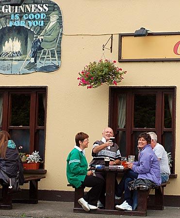 """Das Pub """"Gaynor's"""" in Leenaun, Connemara, Co Galway, Westirland"""