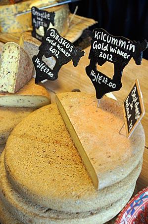 Irland - Dingle Käse mit ausgesuchten Zutaten wie Lappentang