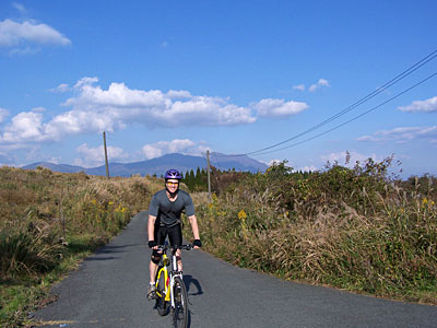 Japan Radtour unterwegs