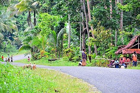 Papua-Neuguinea - Straße