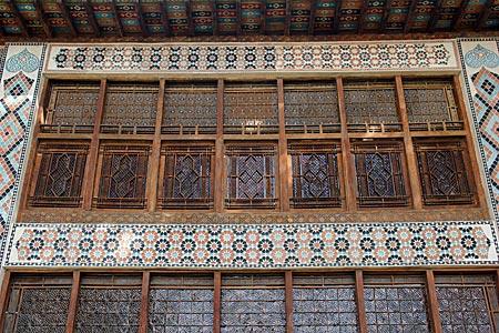 Aserbaidschan - Palast des Khans in Sheki