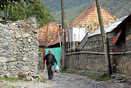 Aserbaidschan - Im Bergdorf Kish