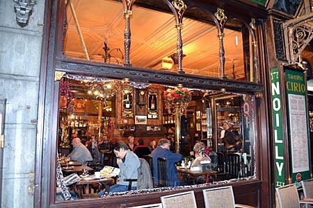 Belgien - Brüssel - Brasserie Cirio