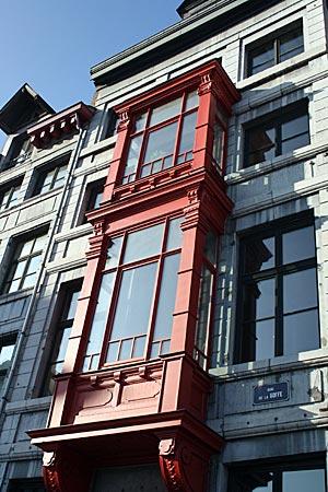 Belgien - Hausfassade in Liege