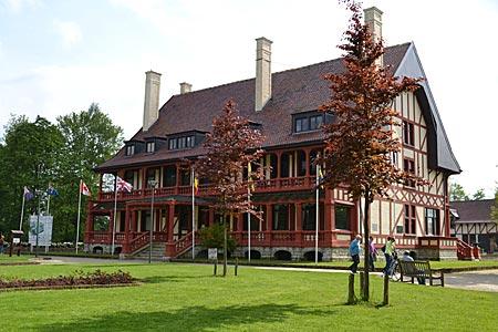 Belgien - Museum im Cottage-Stil: das Memorial Museum Passchendaele in Zonnebeke