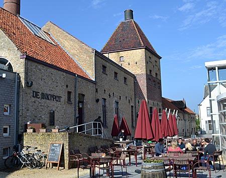 Belgien - Im Turm einer ehemaligen Brauerei in Koekelare befindet sich das neue Käthe-Kollwitz-Museum