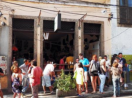 Brasilien  - Bar do Mineiro in Santa Teresa