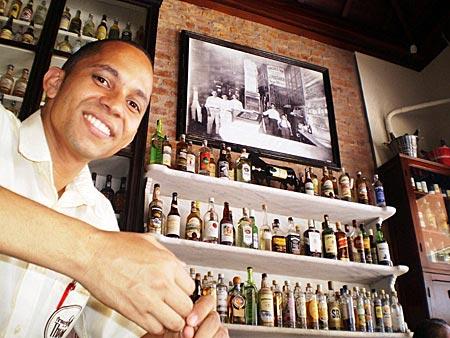 Brasilien - in der Bar do Gomez in Santa Teresa