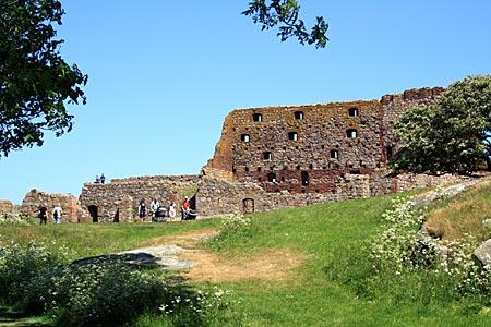 Dänemark - Bornholm - Die mächtige Festung Hammershus und Umgebung