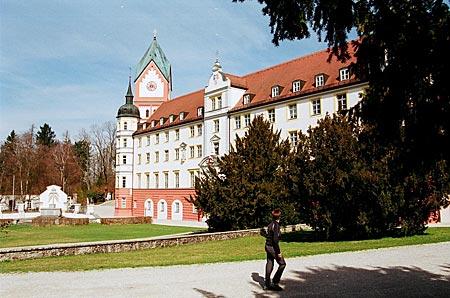 Sehenswerte Hallertau: Kloster Scheyern bei Pfaffenhofen, natürlich mit Brauerei
