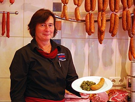 Eine gute Adresse für Kohl und Pinkel ist die Fleischerei Monse in Oldenburg