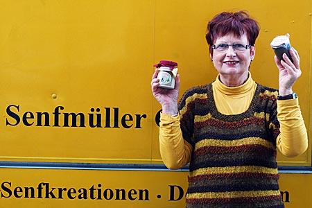 Oldenburg - selbst hergestellter Senf