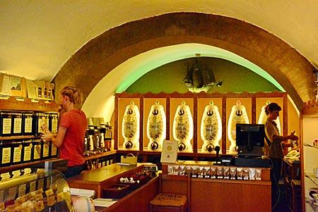 Regensburg kulinarisch - Kaffeegeschäft