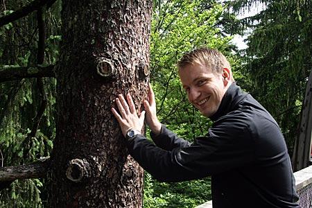 Bayerwald - Baumwipfelpfad - Schubsbaum