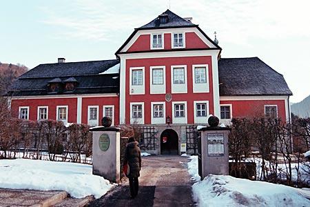 """Berchtesgaden - Schloss Adelsheim, Heimat der """"Berchtesgadener War"""""""