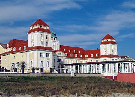 Kurhaus Binz erbaut 1907
