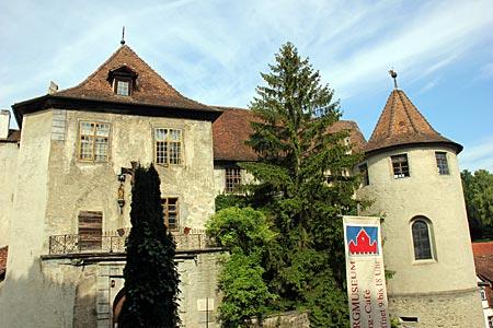 Bodensee - Die Meersburg in Meersburg