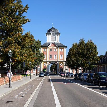 Bruchsal - Damianstor am Schloss