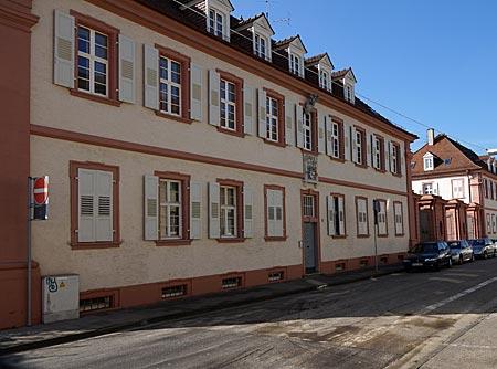 Bruchsal - Kasernengebäude in der Huttenstraße