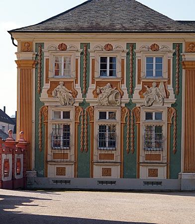 Bruchsal - Schloss - Kavalierbau