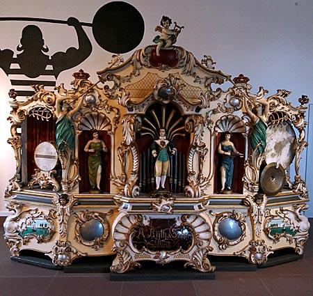 Bruchsal - Deutsches Musikautomatenmuseum - Jahrmarktorgel