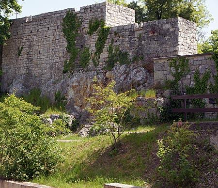 Donauwörth - Burg Mangoldstein
