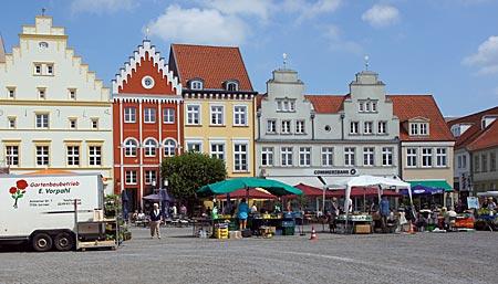 Greiswald - historischer Marktplatz