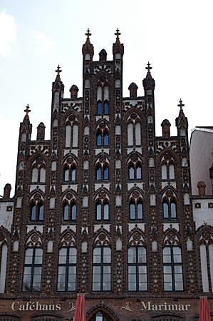 Greifswald - Gotik in ihrer Vollendung - ein Bürgerhaus am Markt