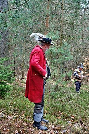 Spessart - Er gibt das Kommando für die Überfälle im Wald bei Mespelbrunn: der Räuberhauptmann