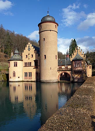 Spessart - Schloss Mespelbrunn
