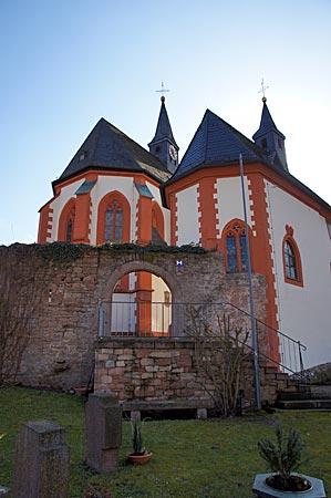 Spessart - Die Wallfahrtskirche in Hessenthal – ein Wehrkirche im Elsavatal