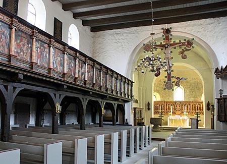 Mönchsweg - Sankt Petri Kirche in Bosau am Plöner See