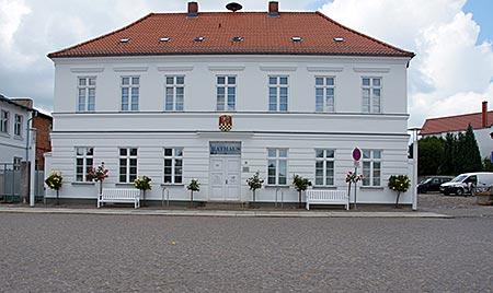 Putbus auf Rügen - Rathaus