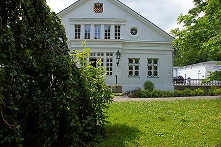 Putbus auf Rügen - fürstliches Gartenhaus
