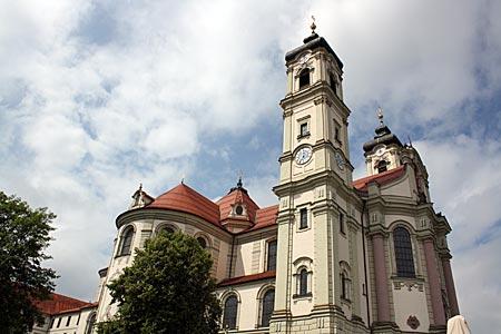 Allgäu - Barockbasilika in Ottobeuren