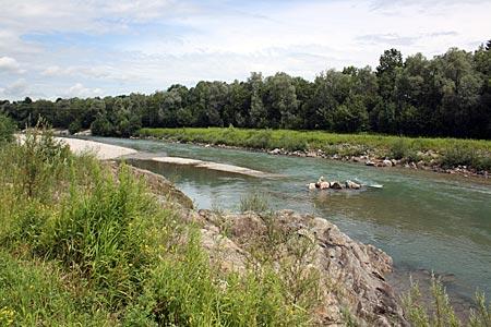 Allgäu - der Fluß Iller