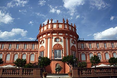 Rheinradweg - Wiesbaden - Schloss Biebrich