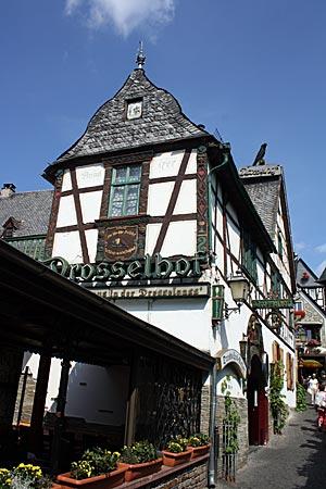 Rheinradweg - Rüdesheim, Drosselgasse