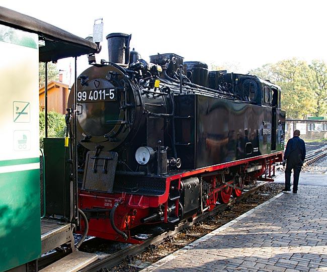 Der Rasende Roland in Göhren auf der Ostseeinsel Rügen