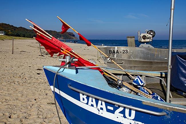Rügen - Fischerboote in Baabe