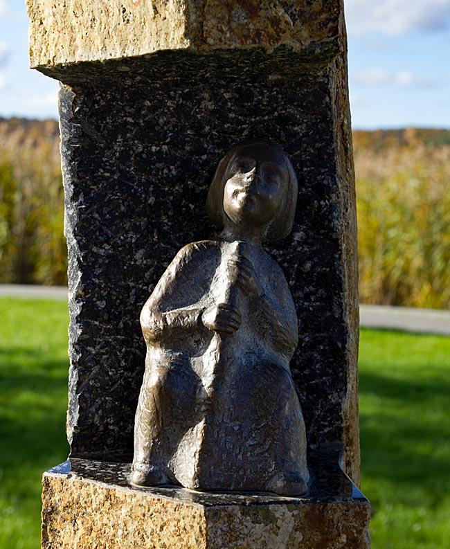 Rügen - Binz - Bronzeskultur im Park der Sinne