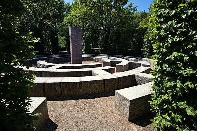 Rügen - Bernsteinpromendae Göhren - Themengarten