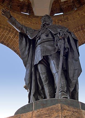 Weserbergland - Porta Westfalica Kaiser Wilhelm I Denkmal