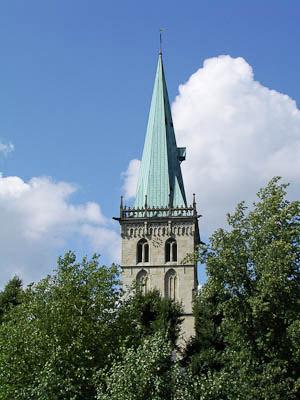 Münsterland: Nicht zu übersehen: St. Felizitaskirche in Lüdinghausen