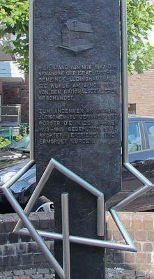 Münsterland: Ein Mahnmal erinnert an die Synagoge von Lüdinghausen