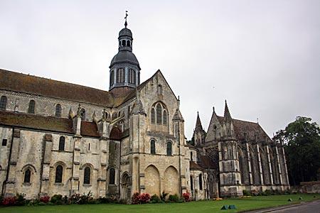 Frankreich - Abtei in St.Germer-de-Fly