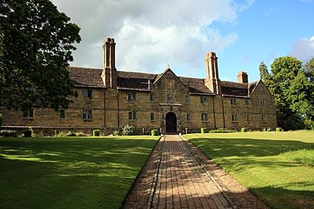 England - Sackville College in East Grinstead