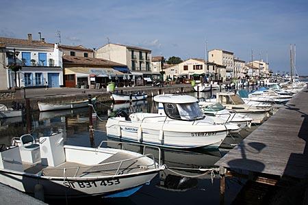Frankreich - Canal du Midi - in Marseillan