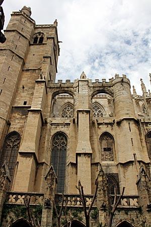 Frankreich - Canal du Midi - Kathedrale Saint-Just, Narbonne