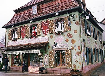 Frankreich - Elsass - Im Elsässer Lebkuchenmekka: Geschäft in Gertwiller